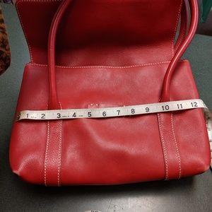 Loro Piana Dandy red Leather